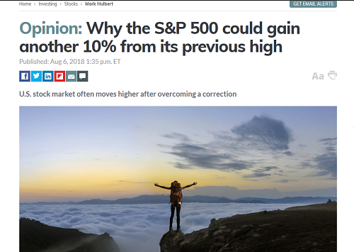 SP 500 gain more 10%